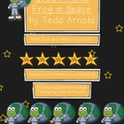Green Wilma, Frog In Space by Tedd Arnold Literary/Math Ac