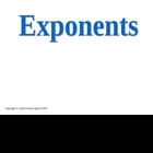 Greenebox Lecture-Exponents