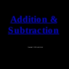 Greenebox Lecture-Fraction Addition-Part I