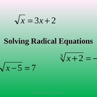 Greenebox-Solve Radical Equations