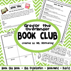 Gregor the Overlander Book Club Pack