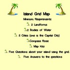 Grid Art Island Maps