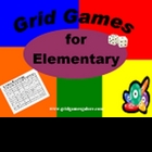 Grid Games for Elementary Math BOOK