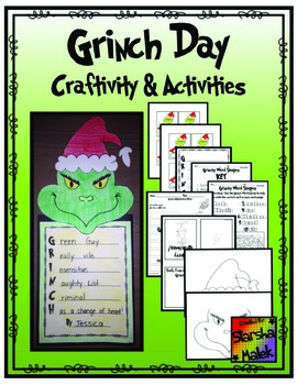 Grinch Day Craftivity and Activities (S.Malek)