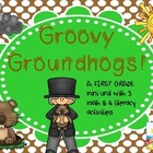 Groovy Groundhogs! (math & lit mini-unit)