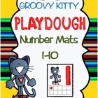 Groovy Kitty Playdough Number Mats 1-10