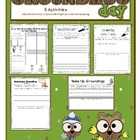 Ground Hog&#039;s Day Elementary Activities