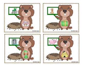 Groundhog Beginning Sounds