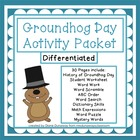 Groundhog Day Activities Packet
