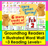 Groundhog Day Emergent Readers and Harder-3 Reading Levels