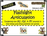 Groundhog Day Flashlight Articulation Freebie For The Soun