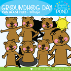 Groundhog Day Graphics - Clipart for Teaching Resources