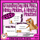 Groundhog Day Hink Pinks, Hinky Pinkies, & Hinkity Pinkities
