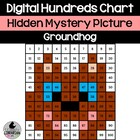 Groundhog Day Hundreds Chart Hidden Picture Activity for Math
