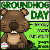Groundhog Day {Math, Literacy & Fun Stuff} Printables for