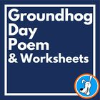 Groundhog Day Poem with Language Skills Worksheets