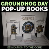 "Groundhog Day ""Pop Up Stories"" A 3-D Pop-Up Book [Educatio"