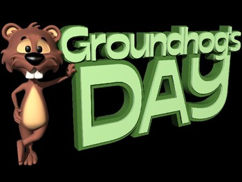 Groundhog Day Powerpoint Lesson and interactive quiz