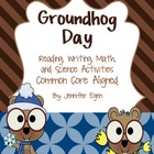 Groundhog Day: Reading, Math, and Science Activities Commo
