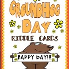 Groundhog Day - Riddle Cards Game for Kids - Clear Descriptions