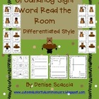 Groundhog Differentiated Sight Word Read the Room