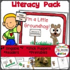 Groundhog Fun! I'm A Little Groundhog! A Shared Reading Singable