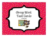Group Work Task Cards
