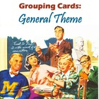 Grouping Cards, General Theme