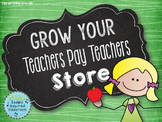 Grow Your Teachers Pay Teachers Store