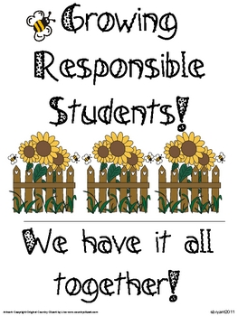 Growing a Garden of Greatness! (Classroom Management)