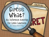 Guess What: An Inference Activity for Little Learners {Objects}
