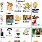 Guess Who?  For Language Class