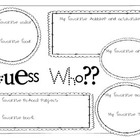 Guess Who! Get to Know You Beginning of Year Activity