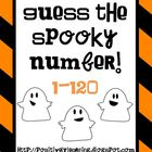 Guess the Spooky Number Freebie!