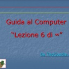 Guida al Computer: Lezione 6 - Il Disco Rigido Parte 2