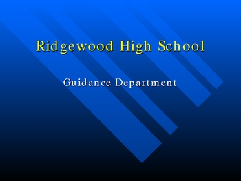 Guidance Presentation