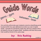 Guide Words / Practice