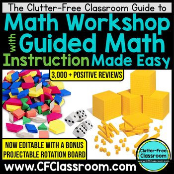 Guide to Organizing & Managing Math Workshop with Guided Math {eBook/Printables}