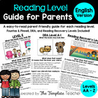 Guide to Reading Levels: A - R - Features of a Leveled Boo