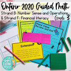 Guided Math Grade 3 Ontario: Number Sense