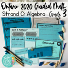 Guided Math Grade 3 Ontario: Patterning and Algebra