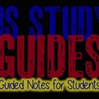 Guided Notes:  United States Study Guides