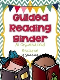 Guided Reading Binder - Editable!