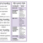 Guided Reading Bookmark for Teacher