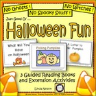 Halloween ~ Guided Reading Books & Activities
