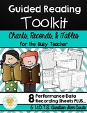 Guided Reading Charts, Records, Note-Taking, & Tables for