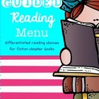 Guided Reading Differentiation {Menu} Pack