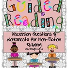 Guided Reading Discussion Questions and Printables for Non