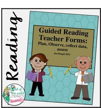 Guided Reading Forms for Planning, Observing, Collecting D