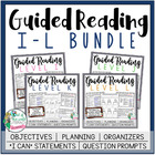 Guided Reading Grade 2 Bundle {Levels I-L} Bonus: Suggeste